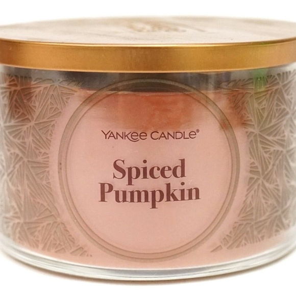 Yankee Candle Spiced Pumpkin 3-Wick Candle